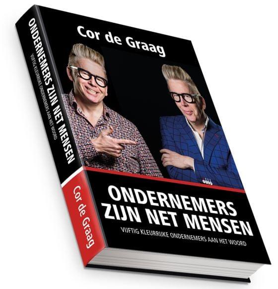Cover boek ondernemers zijn net mensen
