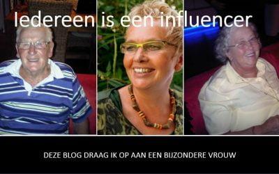 Iedereen is een influencer